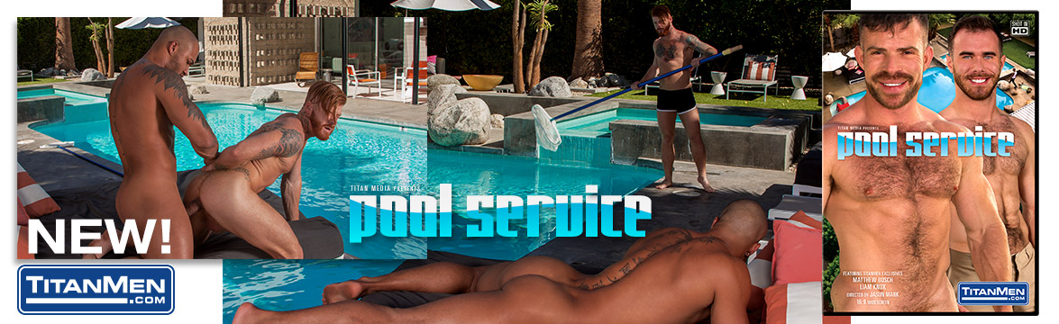 Pool Service DVD image.