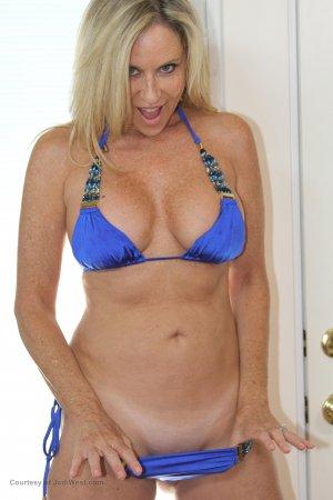 Jodi West Sexy Blue Bikini  Image