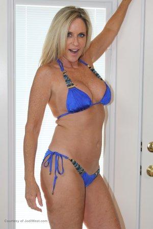 Jodi West Sexy Blue Bikini  Photo Sets Image