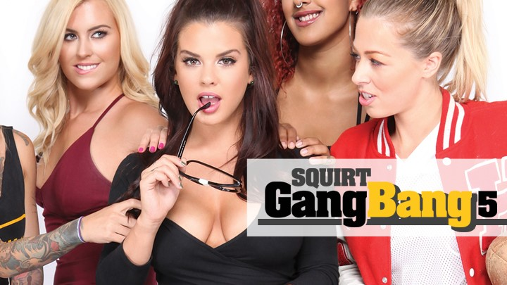 Behind the Scenes of Squirt Gangbang Vol. 5