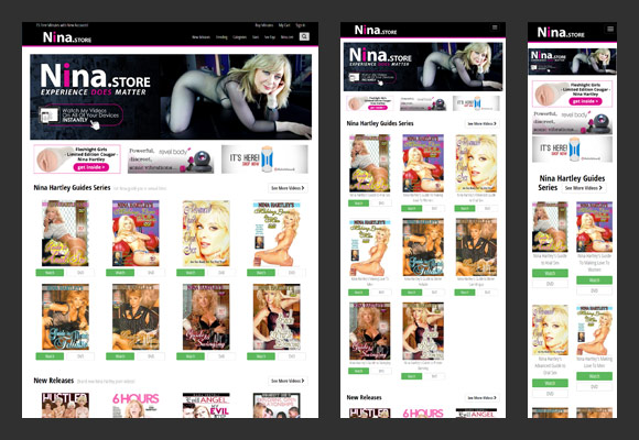 Nina Hartley Store